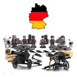 6 Minifiguras Exército Alemão Da Segunda Guerra Mundial Lego