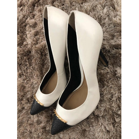 18c8f256d03 Bazar Brecho Sapatos 37 Feminino Scarpins - Sapatos no Mercado Livre ...
