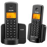 Telefone Elgin Tsf8002 Preto Sem Fio + Ramal