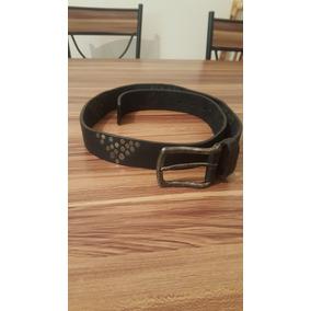 Cinturon De Cuero Negro Hombre 106 Cms Largo Muy Bueno 49d35c34c9e9