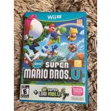 New Super Mario Bros U + New Super Luigi U (americano)
