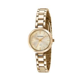 587fbd1f0bc Relógio Feminino Analógico Mondaine 78165lpmgda1 Dourado - Relógio ...