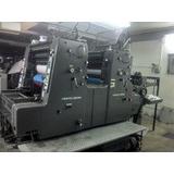 Maquinaria Para Imprenta Offset. Heidelberg Y Dobladora