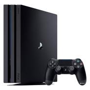 Playstation 4 Pro 4k Ps4 Pro 4k 1tb + Juego A Elección