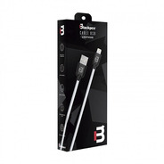 Ca-colors  Cable Lightning Blanco 100 Cm 2a Blackpcs  Cawlp