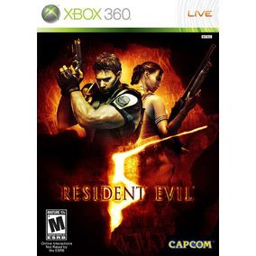 Resident Evil 5 - Xbox 360 - Midia Digital