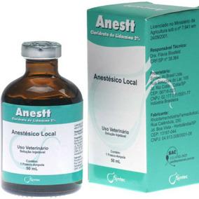 Lidocaína 50 Ml Anestt Syntec Anestésico Local