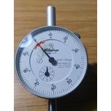 Comparador/reloj Nuevo Mitutoyo 2046-10 Certic De Metrologia