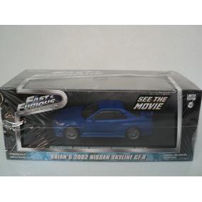 Nissan Skyline Gt-r 2002 Escala 1:43 Fast & Furious