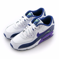 Tenis Dama Nike Air Max Piel 90 Ltr (gs) Envío Gratis!