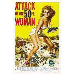 Cartaz Poster Decoração Vintage Retro Filme Antigo Pin Up A3