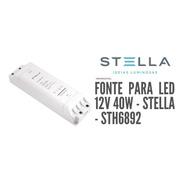 Fonte Profissional Fita Led 12v 40w - Stella - Sth6892