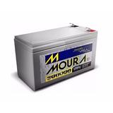 Bateria Moura 7ah 12v - No Break / Cerca Elétrica / Alarmes