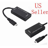 Fhd 1080p Mini Micro Hdmi Cable Adaptador Usb A