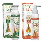 Eco Hair Anticaida Crecimiento Cabello Combo  Locion + Shamp