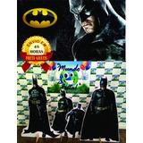 Kit Displays De Chão Batman 8 Peças + Painel 2,00x1,50m 48h