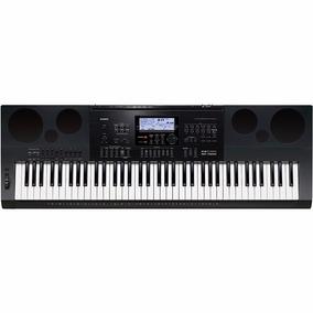 Teclado Musical Casio Wk7600 76 Teclas Profissional C/ Fonte