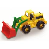 Mini Trator Pá Carregadeira Color