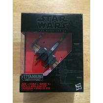 Star Wars Nave Titanium Black Series # 12 X Wing X-wing