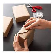 Papel Semi Craft Rolo Bobina 90cm 3kg - Embalagem Caixa
