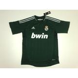 Camiseta Real Madrid Alt. Verde Champions League