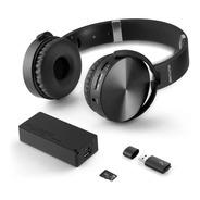 Headphone Bluetooth Musica Play Sd/aux/fm Mc250 Oferta Loi