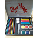 Lapices Acuarelables-acuarelas-crayones Carand