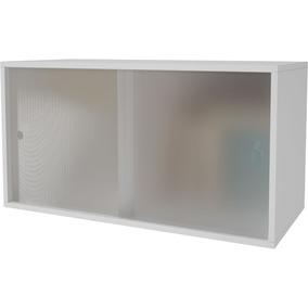 Cubo Duplo Com 2 Portas De Correr Com Vidro Bcb 10 - Brv Móv
