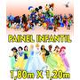 Painel Decorativo Festa Infantil Em Lona Banner - Diversos