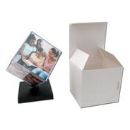2 Unidades - Cubos Fotográficos Giratório 9x9cm Grande