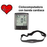 Velocímetro Bicicleta Ciclocomputadora C/ Pulsómetro Cardio
