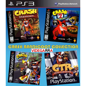 Crash Collection 1 2 3 Y Carrera - Español - Ps3