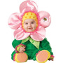 Disfraz De Flor Para Niña Talla 12- 18 Meses - Verde/rosado