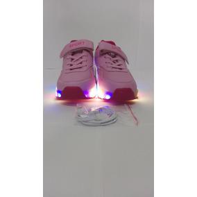 Zapatillas Luces Led Con Rueditas Usb Recargable Microcentro