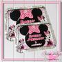 Marmita Personalizada Minnie Rosa 1 - 10 Unidades