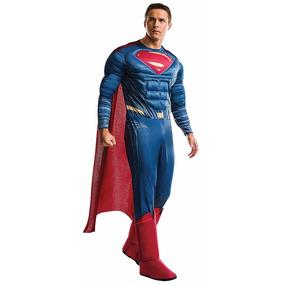 Disfraz Superman Adulto Traje Batman Vs Superman Halloween