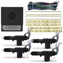 Kit Travas Eletrica Universal 4 Portas Dupla Serventia Carro