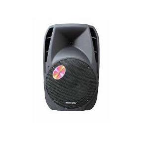 Caixa Som Amplificada Golden Ultra 12pol+mic S/fio+c/rem