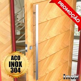 Puxadores Em Inox 1metro -portas Pivotantes Madeira/vidro