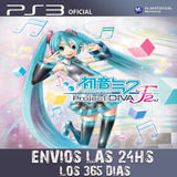 Hatsune Miku Project Diva F 2nd Ps3 Digital Tenelo Ya P24
