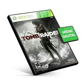 Tomb Raider Xbox 360 X360 Português Br Código 25 Dígitos