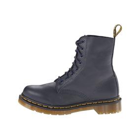Bota Mujer Dr. Martens Pascal 8-eye Boot Negro Cuero Natura
