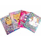 4 Libros Mandalas Colorear Niños Relajante Antiestres Vol 2