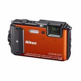 Nikon - Coolpix Aw130 Cámara Digital Impermeable De 16.0