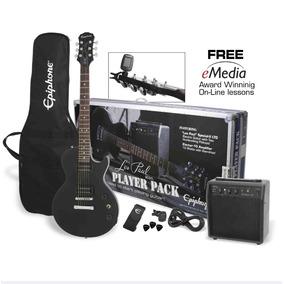 Paquete Guitarra Electrica Epihpone Les Paul Ltd 2 Player