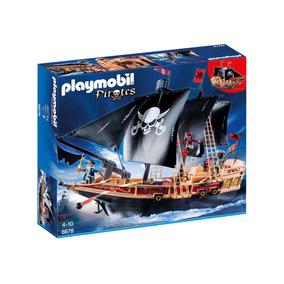 Playmobil 6678 Barco Pirata De Combate Original