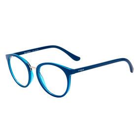 Óculos De Grau Vogue Vo5167l 2556 52 Azul Escuro azul Transp · R  272 89 32521dfed2