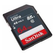 Memoria Sd Sandisk 64gb Ultra Sdsdunb-064g-gn3in