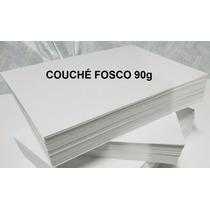 Papel Couchê Fosco A4 - 90g/m² - 250 Folhas - Barato
