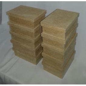 Kit Com 20 Caixas Mdf Cru 10x15x5 Cm Lembrancinha